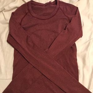 Lululemon Fitted Ribbed Long Sleeve